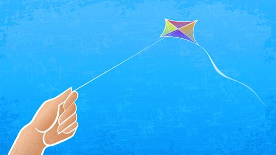 freelance kite hand