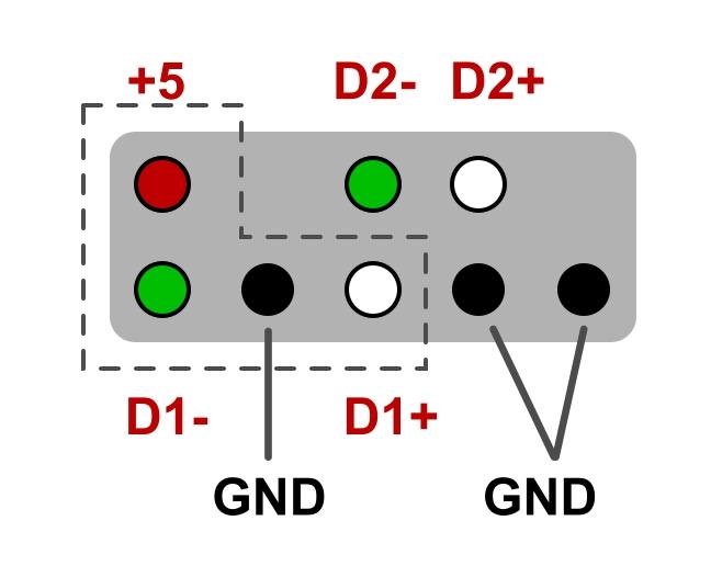 USB-разъём NEC MS9127