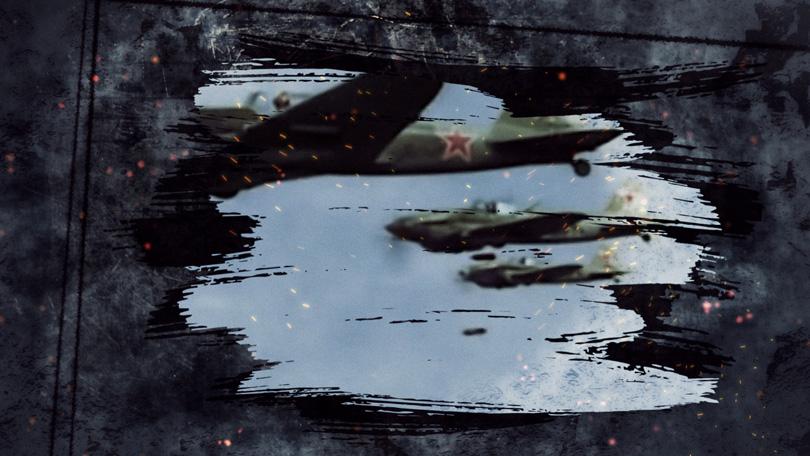 Кадр заставки «Сражение за Кубань»