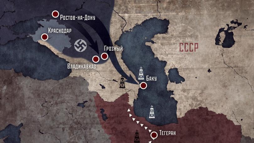 Кадр фильма «Сражение за Кубань»