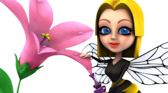 Перейти на страницу «персонаж пчелы»